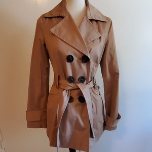 Express Classic Short Trench Coat